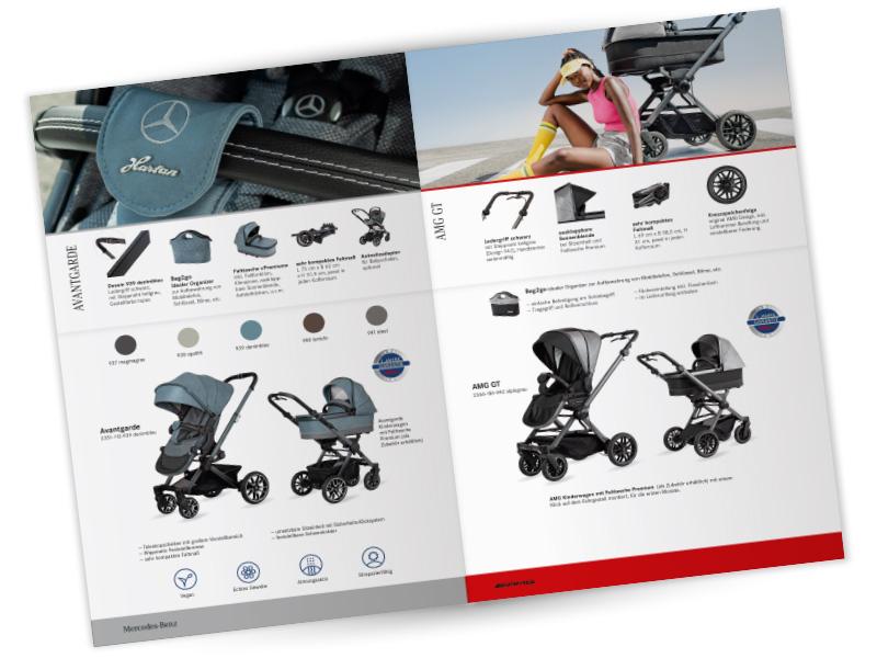 Kinderwagen Avantgarde Mercedes Benz Collection Hartan