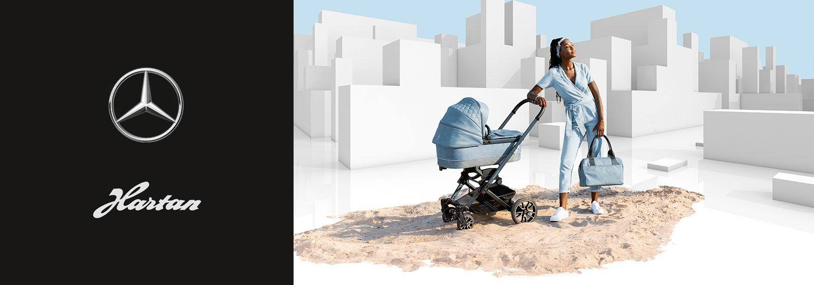 kinderwagen avantgarde mercedes benz collection hartan. Black Bedroom Furniture Sets. Home Design Ideas
